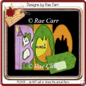 061 BOO Word Card KIT