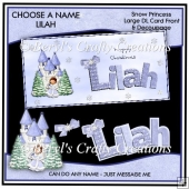 Choose a Name Snow Princess - Lilah
