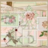 ScrapKit Letter to Rose