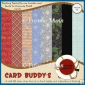 Easel Cards Backing Papers Freebie Set