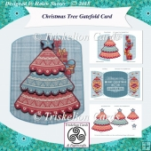 Christmas Tree 3D Decoupage Gatefold Card