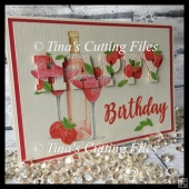 3d Eclipse Card - Happy Birthday