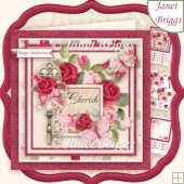 CHERISH 7.5 Various Occasions Decoupage & Insert Mini Kit