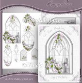 A4 & DL Card, Wedding & Love Set 1