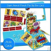 Super Animal Friends Pop Up Box Card