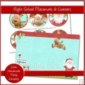 Flight School Placemats & Coasters