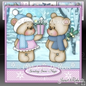 Christmas Bears Mini Kit