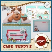 Reindeer Games Over The Top Card Kit