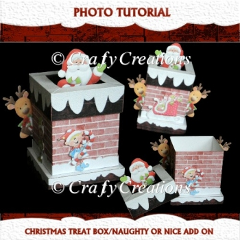 Christmas Treat Box/Naughty or Nice Tutorial