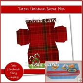 Tartan Christmas Favour Box