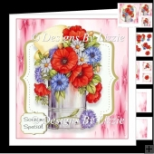 Poppies and Cornflowers Mini Kit