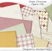 Simply Christmas Papers 1(Retiring in August)