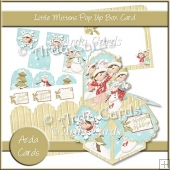 Little Mittens Pop Up Box Card