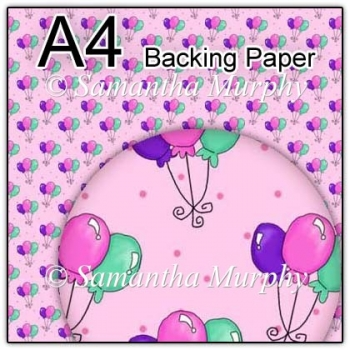 ref1_bp315 - Pink Birthday Balloons