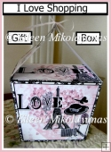 I love Shopping Paris Chic Large Handled Gift Box