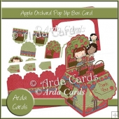 Apple Orchard Pop Up Box Card