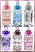 Paris Chic Perfume Bottle Diecut Embellishments