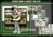 Stout Dude 4 Sheet Mini Kit