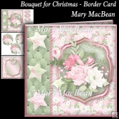 Bouquet for Christmas - Border Card