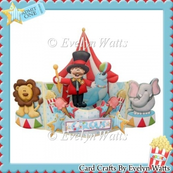 Circus Push n Pull card Kit