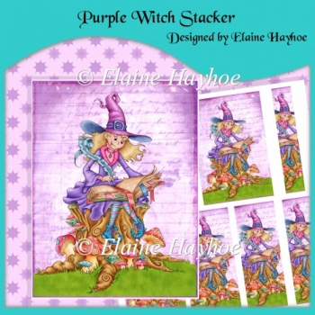 Purple Witch Stacker