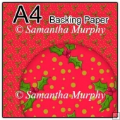 ref1_bp359 - Red Christmas Holly