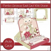 Purrfect Christmas Easel Card With Drawer