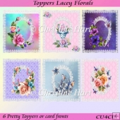 Toppers Lacey Florals