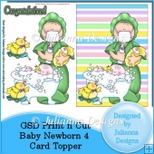 GSD PNC Baby Newborn 4 Card Front/Topper Cutting File