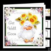 Cheeky Little Chick _ Get Well Soon