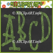 Chalk Alphas (Green) - Commercial Use
