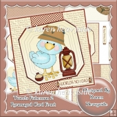 (Retiring in September) Tweets Fisherman 2 Pyramaged Card Front