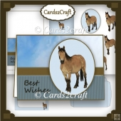 Exmoor Pony card set