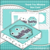 Thank You Window Box Card