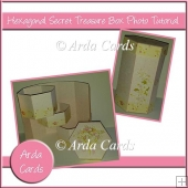 Hexagonal Secret Treasure Box Photo Tutorial