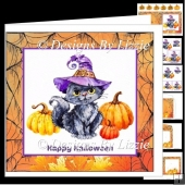 Halloween Kitten Fun Halloween Mini kit