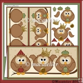 3 Wise Owls Christmas DL