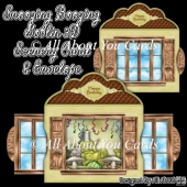Snoozing Boozing Goblin 3D Scenery Card & Envelope
