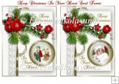 Keep Christmas in Your Hearts Collage Card Fronts