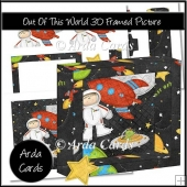 Out Of This World 3D Framed Picture