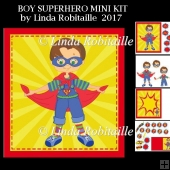 Boy Superhero Mini Kit