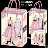 Party Time Dress Gift Bags