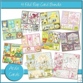 4 Fold Flap Card Bundle