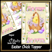 Easter Chick Topper