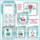 Polar Pals Card Kit