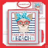 Take me to the beach card set