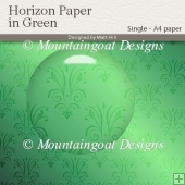 Horizon Paper in Green