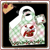 149 Christmas Gift Bag *HAND & MACHINE Formats*