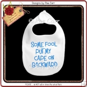 976 Baby Cape Bib Multiple MACHINE Formats