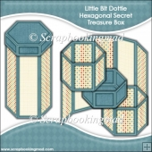 Little Bit Dottie Hexagonal Secret Treasure Box
